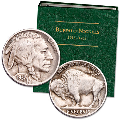 Image for 1920-1937 Buffalo Nickel Set with Album from Littleton Coin Company