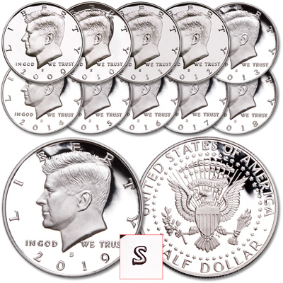 "Image for 2009-2019 ""S"" Mint Kennedy Half Dollar Set from Littleton Coin Company"