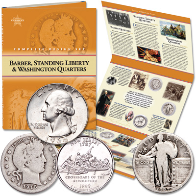 Image for Classic American Coin Set - Quarters from Littleton Coin Company