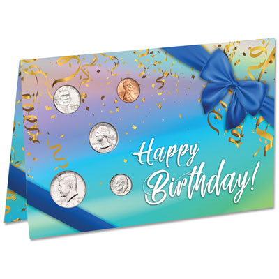 Image for 2018 U.S. Coin Happy Birthday Card from Littleton Coin Company