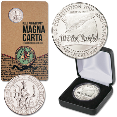 Image for Influential Documents Set from Littleton Coin Company