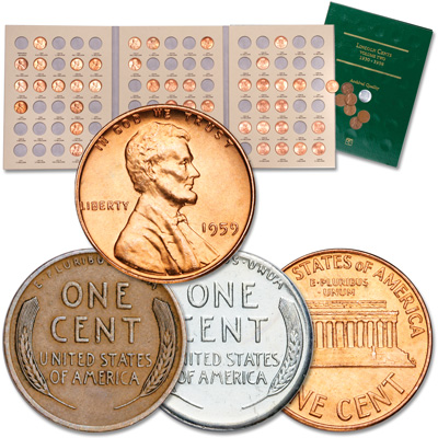 Image for 1930-1998 Lincoln Head Cent Set (50 coins) from Littleton Coin Company