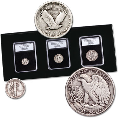 Image for 1925-1947 100th Anniversary Set from Littleton Coin Company