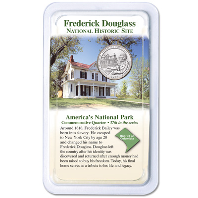 Image for 2017 Frederick Douglass National Historic Site Quarter in Showpak from Littleton Coin Company