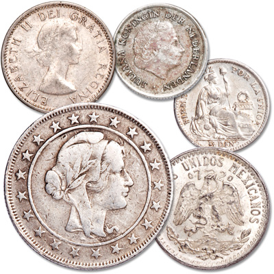 Image for Silver Coins of the Americas Set from Littleton Coin Company