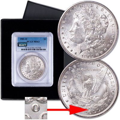 Image for 1901-O Morgan Silver Dollar from Littleton Coin Company