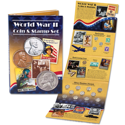 Image for World War II Coin & Stamp Set from Littleton Coin Company