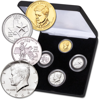 Image for John F. Kennedy 100th Anniversary Set from Littleton Coin Company