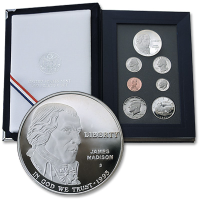 Image for 1993-S U.S. Mint Prestige Proof Set from Littleton Coin Company