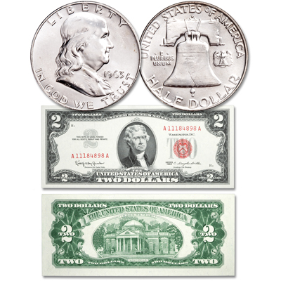 Image for 1963 Final Issue Coin & Currency Set from Littleton Coin Company
