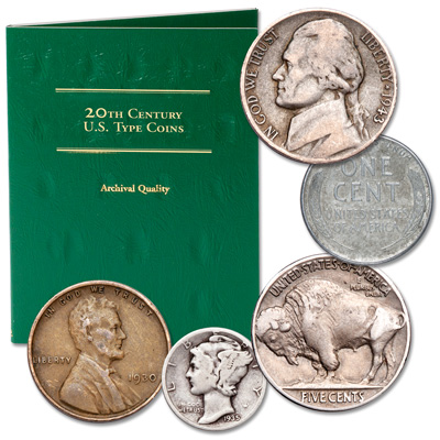 Image for Vanishing 20th Century Set from Littleton Coin Company