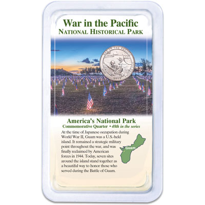 Image for 2019 War in the Pacific National Historical Park Quarter in Showpak from Littleton Coin Company