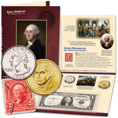 Image for George Washington Tribute Set from Littleton Coin Company