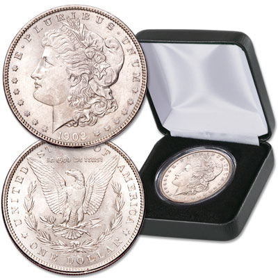 Image for 1902-O Morgan Dollar in Display Case from Littleton Coin Company