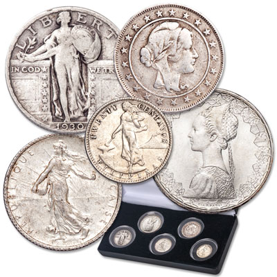"Image for 1898-2001 Silver ""Liberty"" Collection with case from Littleton Coin Company"