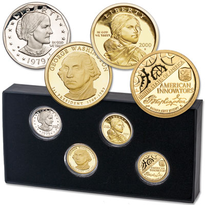 Image for 1979-2018 Small Dollar First Year Set from Littleton Coin Company