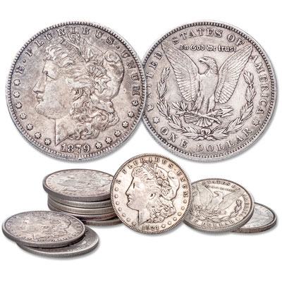 "Image for 1878-1921 ""Half Roll"" of Morgan Silver Dollars from Littleton Coin Company"
