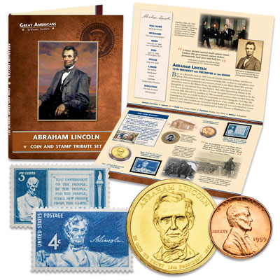Image for Abraham Lincoln Tribute Set from Littleton Coin Company