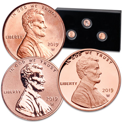 Image for 2019-W Lincoln Head Cent Set from Littleton Coin Company