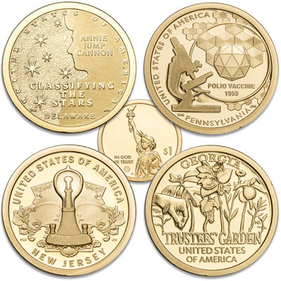 Image for 2019-S U.S. Innovation Dollar Set from Littleton Coin Company