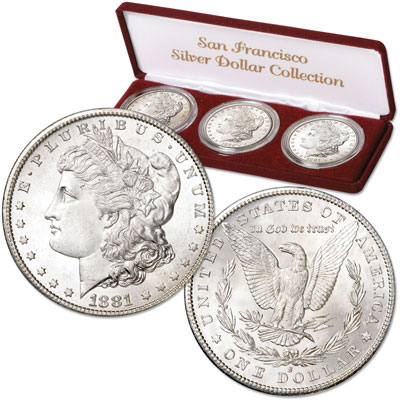 "Image for 1879-1881 ""S"" Mint Morgan Silver Dollar Set from Littleton Coin Company"