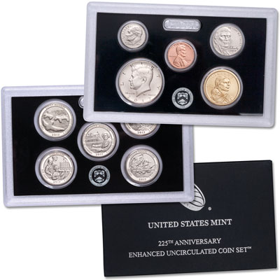 Image for 2017-S U.S. Mint 225th Anniversary Enhanced Uncirculated Set from Littleton Coin Company