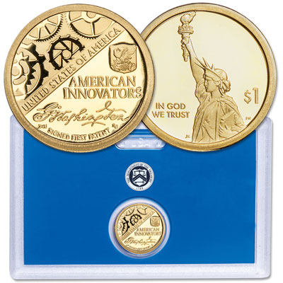 Image for 2018-S Washington's Signature U.S. Innovation Dollar in U.S. Mint Holder from Littleton Coin Company