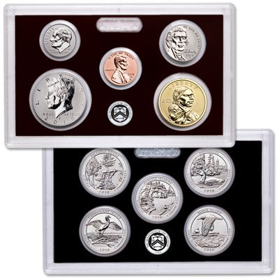 Image for 2018-S U.S. Mint Silver Reverse Proof Set from Littleton Coin Company