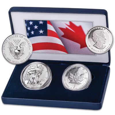 Image for U.S. Mint 2019 Pride of Two Nations Set from Littleton Coin Company