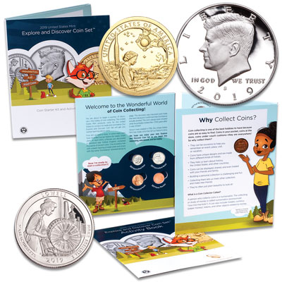 Image for 2019 Explore & Discover Coin Set from Littleton Coin Company