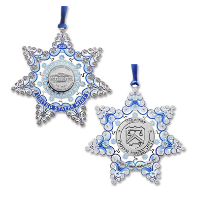 Image for 2020 U.S. Mint Holiday Star Ornament from Littleton Coin Company