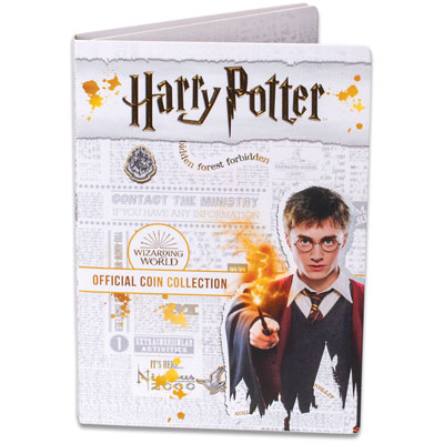 Image for 2020 Harry Potter Coins Folder from Littleton Coin Company