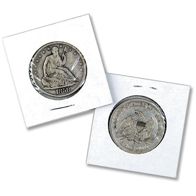 Image for Mylar Lined Holders - Large Dollar Size from Littleton Coin Company