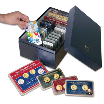 Image for Littleton's Showpak Storage Box from Littleton Coin Company